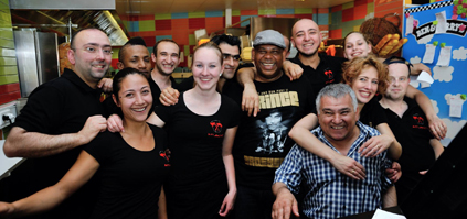 Grillroom Atlantis team